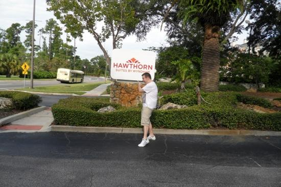 Hawthorn Suites by Wyndham Orlando Convention Center: Hawthorn!