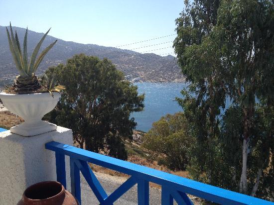 Pelagos Hotel - Apartments: vue depuis hotel