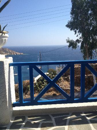 Pelagos Hotel - Apartments: terrasse
