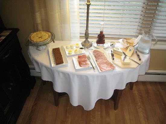 Au Bois Joli B&B: le petit déjeuner