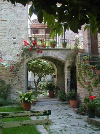 La Vieille Demeure : patio