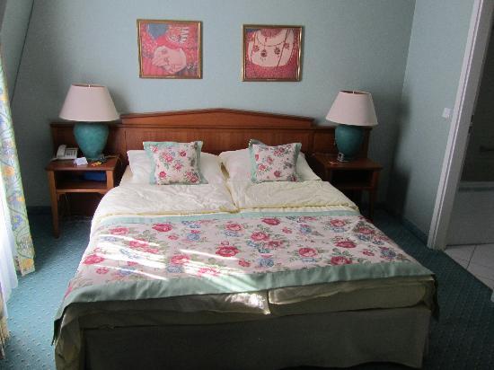 Hotel Am Schlosspark: Schlafzimmer