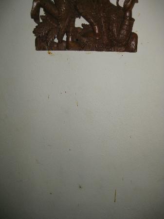 Scandinavian Residence: Disgusting bloody wall