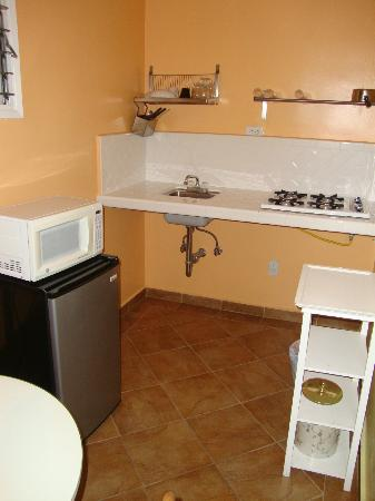 Seaview Hotel: The kitchen area