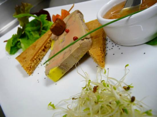Aux Fourneaux : Foie gras de canard maison mi-cuit