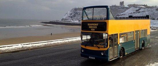 Shoreline Suncruisers: Open Topper in the snow!!!