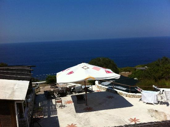 Bed & Breakfast Il Cigno: Sea View from second floor