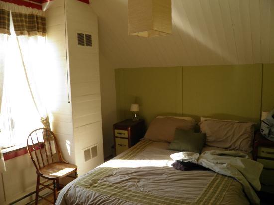 Auberge de Jeunesse Les Mains Tissees : Notre chambre
