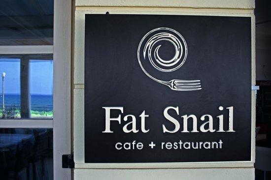 Fat Snail: πινακιδα