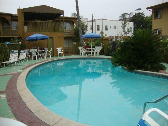 Hollywood City Inn: The pool