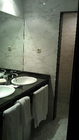 Palacio Arias: Baño correcto