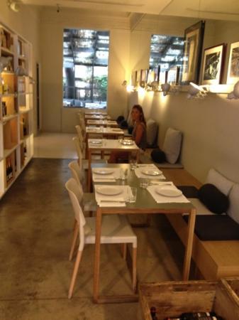 Restaurante Mordisco : erika..già pronta all'azione!