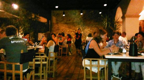 Pizzeria Pizzeta: Sala-porche