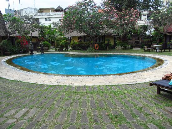 Puri Dalem Hotel: One of the pools