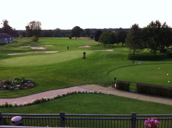 Overstone Park Hotel: View from the balcony