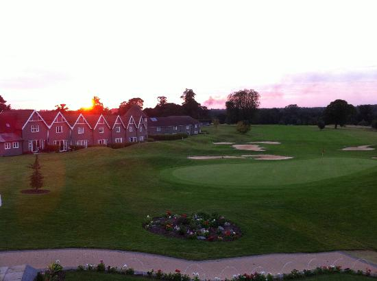 Overstone Park Hotel: Gorgeous sunset