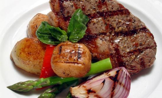 Craig Street Brew Pub : Tasty Steak Dinner