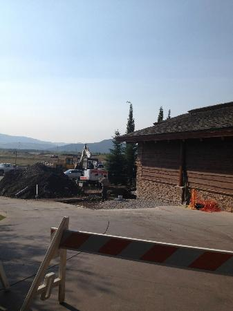 Snake River Lodge and Spa: On-going construction