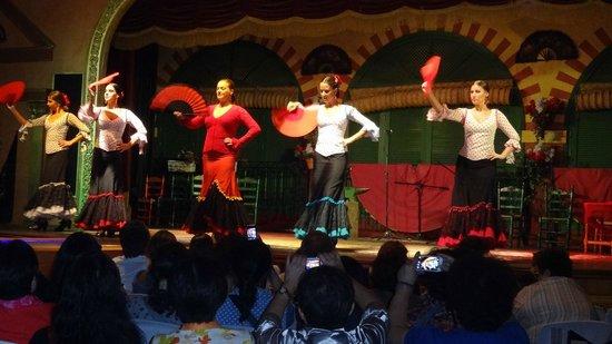 El Palacio Andaluz: Show Flamenco-Palacio Andaluz-Sevilha