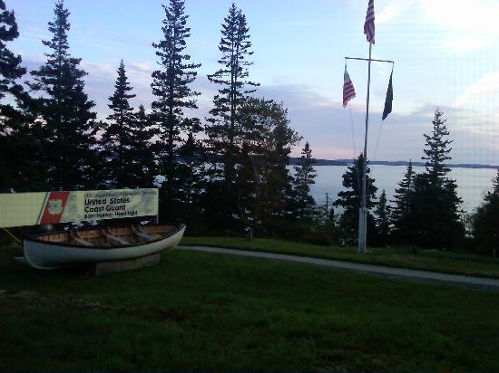 Bass Harbor Campground: You can drive, bike or walk to Bass Harbor Lighthouse (an active Coast Guard station) from Bass