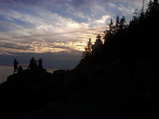 Bass Harbor Campground: Each year thousands of pictures are taken of the lighthouse, particularly at sunset.