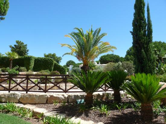 Hilton Vilamoura As Cascatas Golf Resort & Spa : vue chambre rez-de-jardin