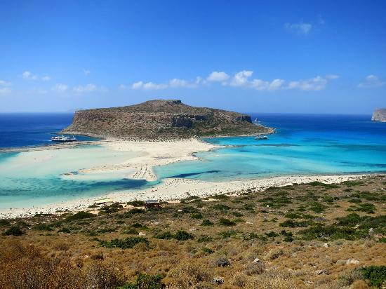 Olive Tree Apartments: Balos beach, in the very north-west of Crete