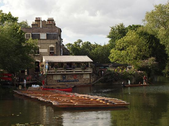 The Granta: Overlooking the Mill Pond