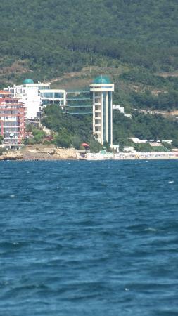 Paradise Beach: Widok z kutra