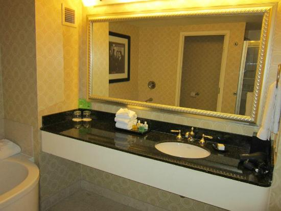 Bathroom In Hollywood Hip Room Picture Of Planet Hollywood Resort Casino Las Vegas
