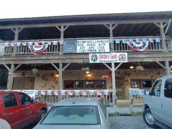 "Bandera Tavern - how much more ""cowboy"" can you get?"