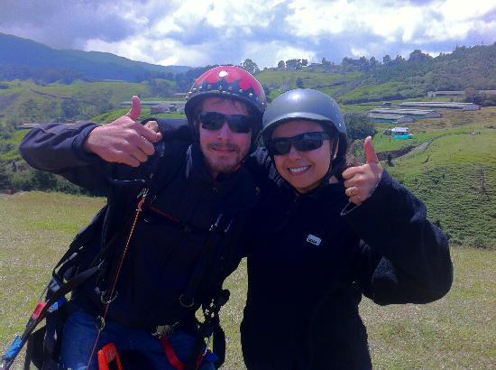Paraworld Adventure Sports Medellín: Gracias Florian!!