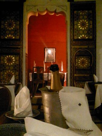 Dar Rbab: The dining room