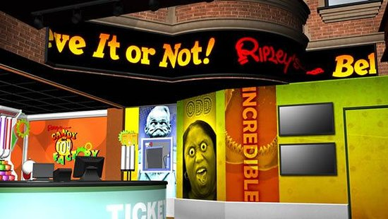 Ripley's Believe It or Not! Odditorium is a self-guided, self-paced interactive tour that is fun for the whole family and allows guests to fully enjoy San Francisco's most bizarre attraction! A landmark at Fisherman's Wharf for over 45 years!