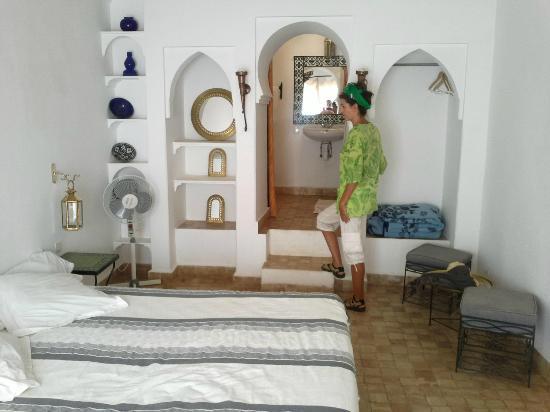 Chez Pierre: nuestra habitación