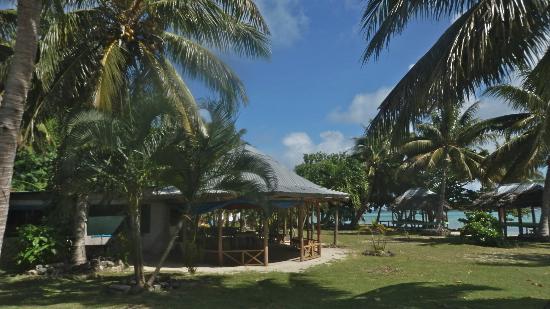 Namua Island Resort: The dining fale