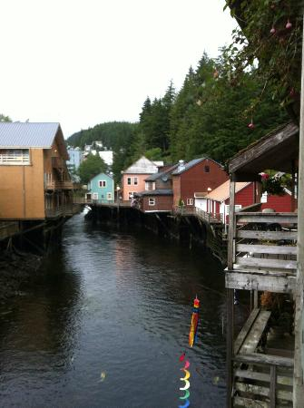 Inn at Creek Street: Creek Street... a must-see when visiting Ketchikan
