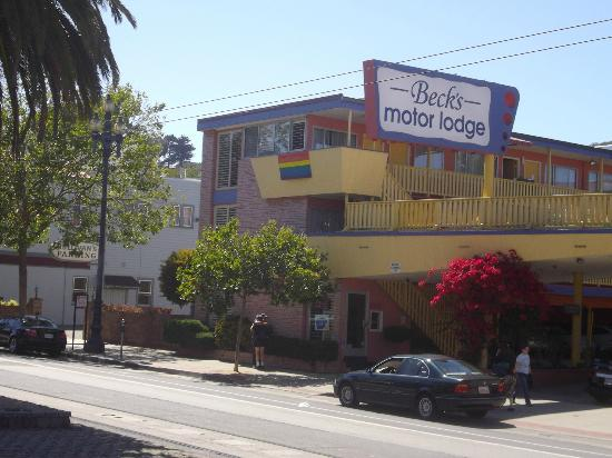 Beck's Motor Lodge : von Aussen