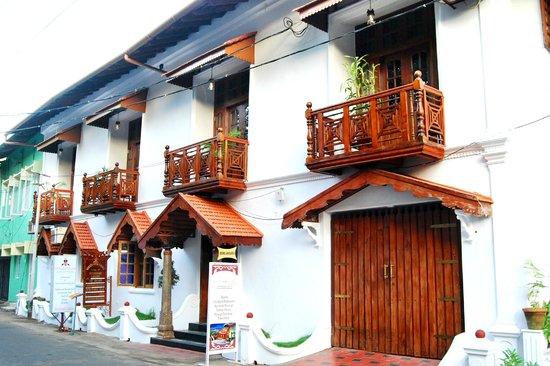 Rossitta Garden Restaurant: Our hotel
