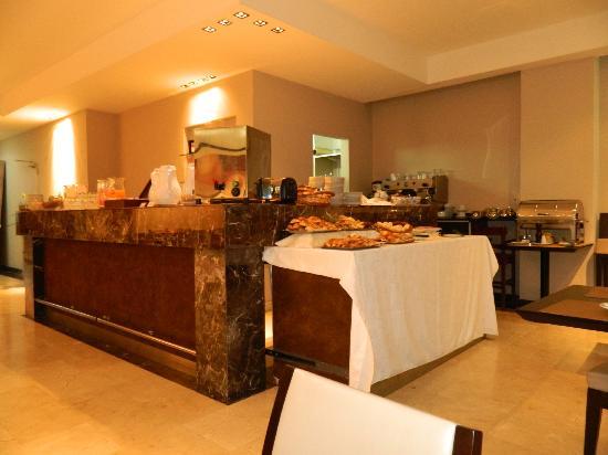 Galerias Hotel: Café da Manhã