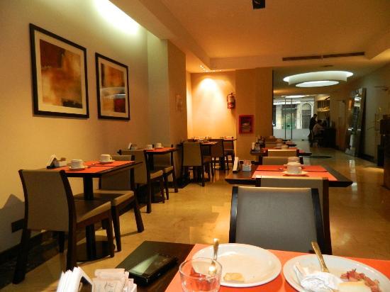Galerias Hotel: Área do Café da Manhã