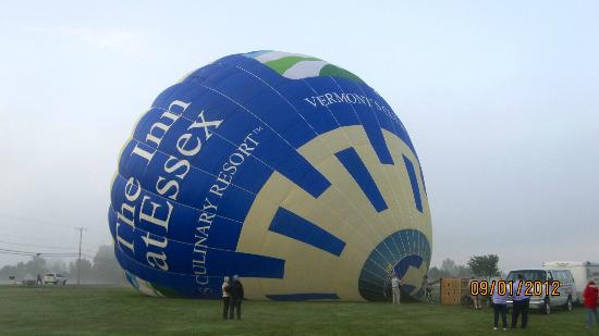 The Essex, Vermont's Culinary Resort & Spa: Hot Air Balloon RIde