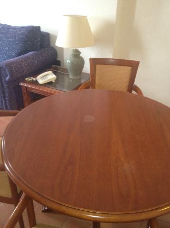 La Posada Hotel: Mirar la mesa