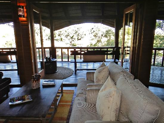 Ulusaba Private Game Lodge: Lounge