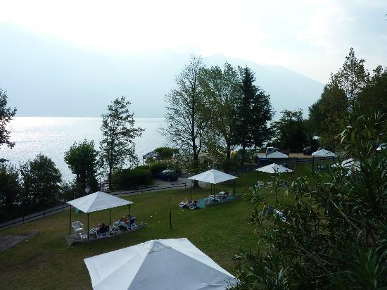Hotel Sogno del Benaco: Liegewiese