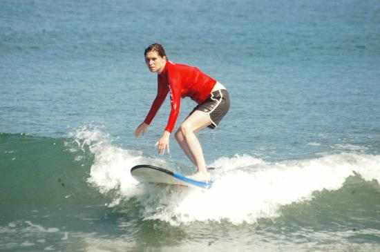 Bali Learn To Surf : Surfing