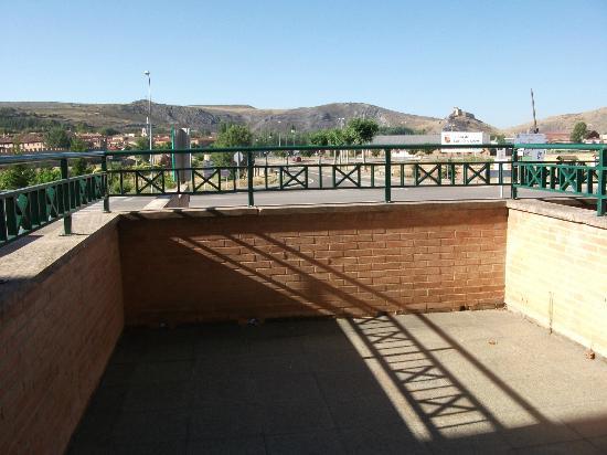 Hotel Rio Ucero : Una vista desde la habitación