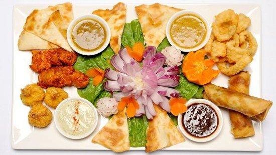 Sukra Restaurant at Lasseters Hotel Casino: Sukra platter