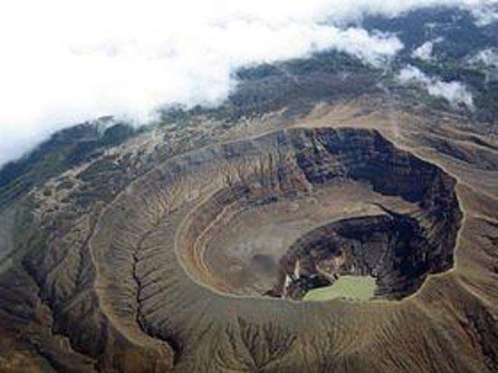 Santa Ana Volcano Foto