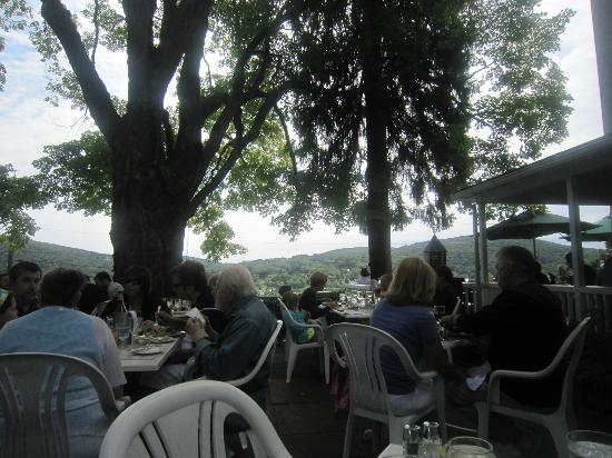 Hopkins Inn Restaurant: Views of Lake.
